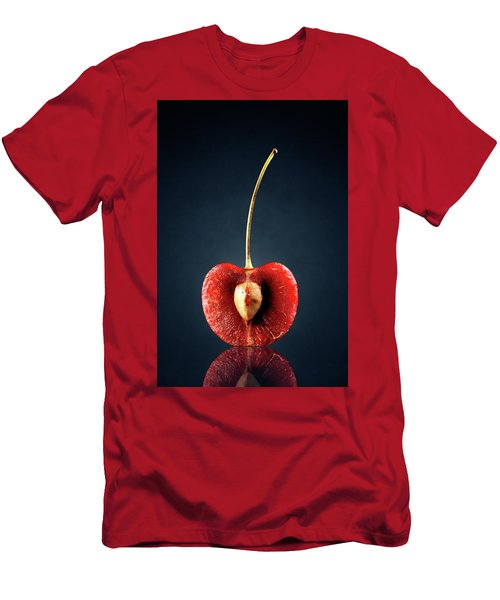 Red Cherry Still Life Men's T-Shirt (Athletic Fit)
