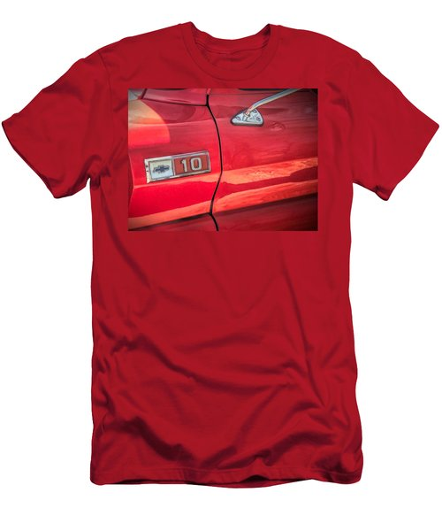 Reddddd Men's T-Shirt (Athletic Fit)