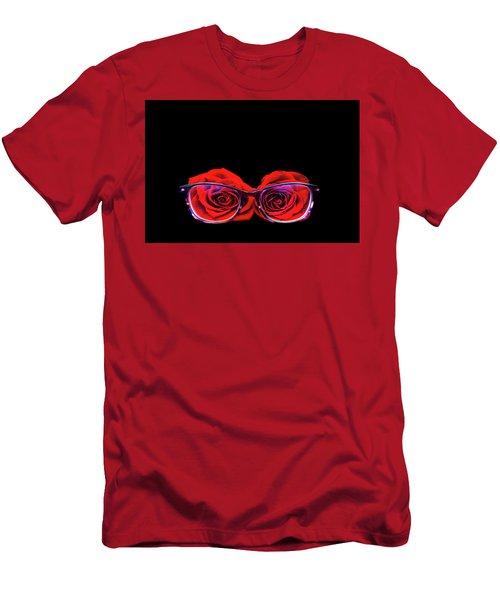 Rosy Vision Men's T-Shirt (Athletic Fit)