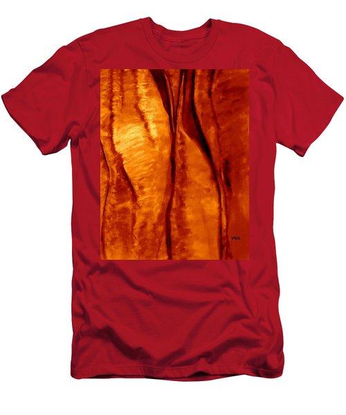 Sacred Uluru  - Up  Close Men's T-Shirt (Athletic Fit)