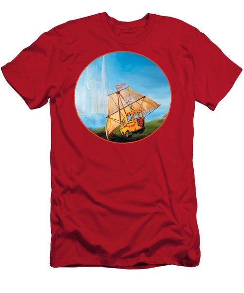 Sailbus Men's T-Shirt (Athletic Fit)