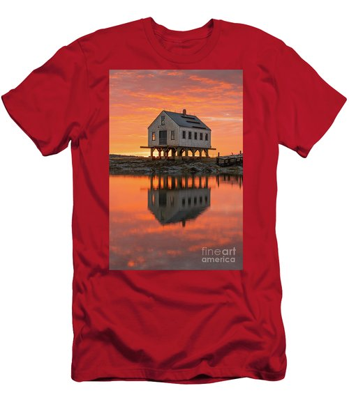 Scorched Symmetry Men's T-Shirt (Athletic Fit)