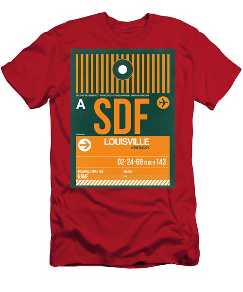 Sdf Louisville Luggage Tag II Men's T-Shirt (Athletic Fit)