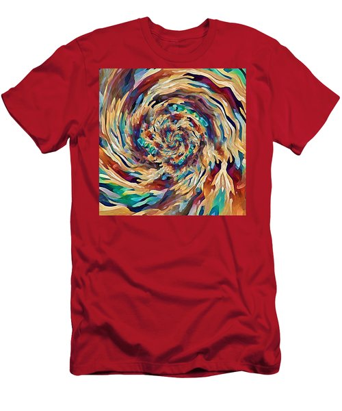 Sea Salad Swirl Men's T-Shirt (Athletic Fit)