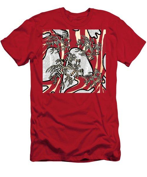 Sea Zebra Dragon 3 Men's T-Shirt (Athletic Fit)