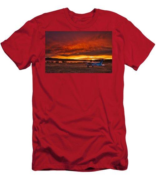 Skylane Sunrise Men's T-Shirt (Athletic Fit)