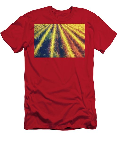 Smell Of The Corn Men's T-Shirt (Athletic Fit)