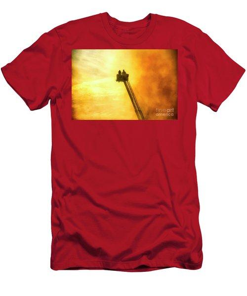 Smokey Blaze Men's T-Shirt (Athletic Fit)