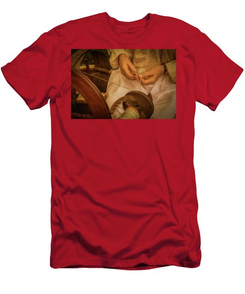 Men's T-Shirt (Athletic Fit) featuring the photograph Spinner by Guy Whiteley
