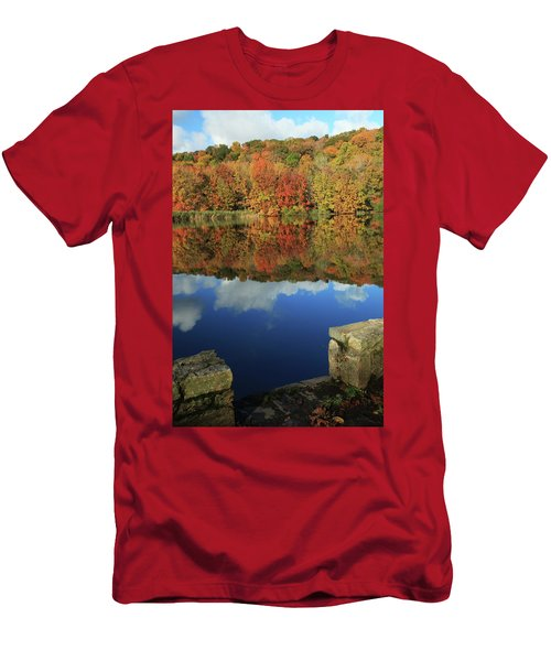Stepping Into Autumn Men's T-Shirt (Athletic Fit)