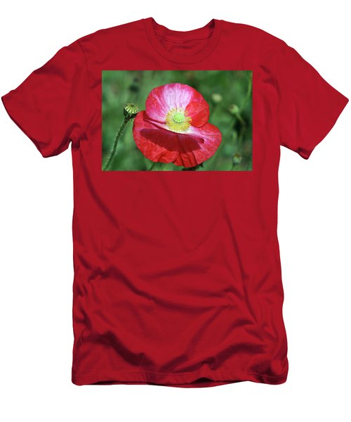 Summer Poppy Men's T-Shirt (Athletic Fit)
