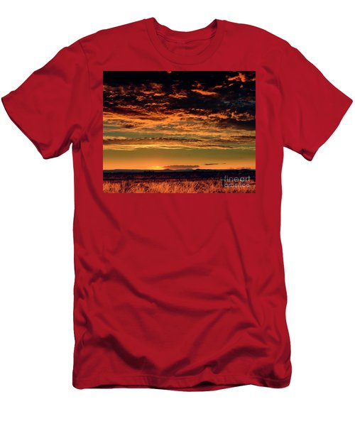 Summer Sunset Men's T-Shirt (Athletic Fit)