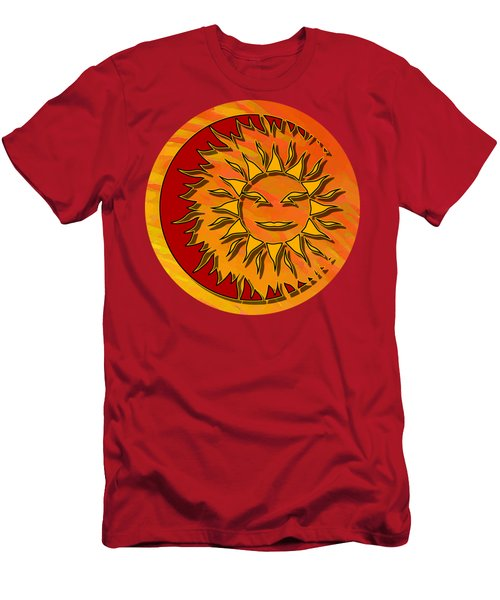 Sun Eclipsing The Moon Men's T-Shirt (Athletic Fit)