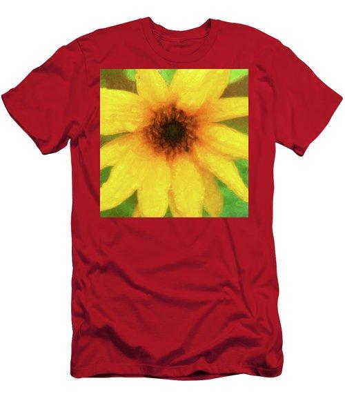 Sunflowers Helianthus 008 Men's T-Shirt (Athletic Fit)