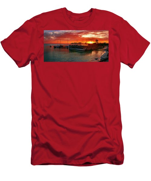 Sunrise In Cancun Men's T-Shirt (Athletic Fit)