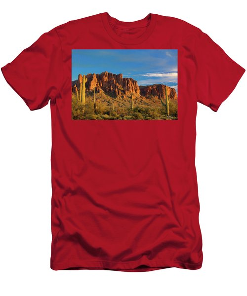 Sunset At Superstition Mountain Men's T-Shirt (Athletic Fit)