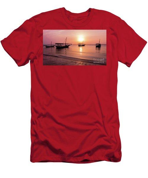 Sunset In Zanzibar Men's T-Shirt (Athletic Fit)