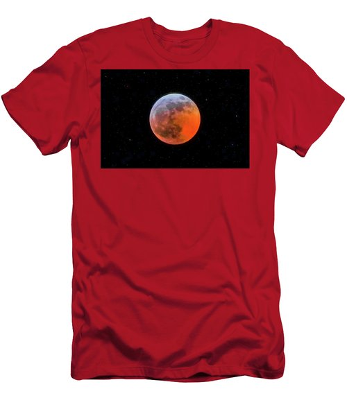 Super Blood Moon Eclipse 2019 Men's T-Shirt (Athletic Fit)