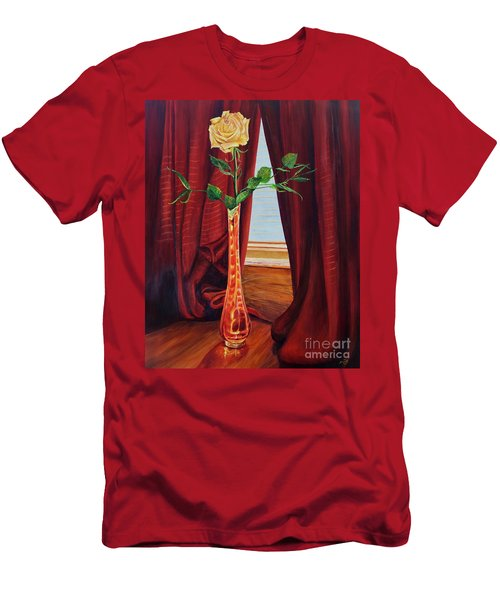 Sweetheart Day's Rose Men's T-Shirt (Athletic Fit)