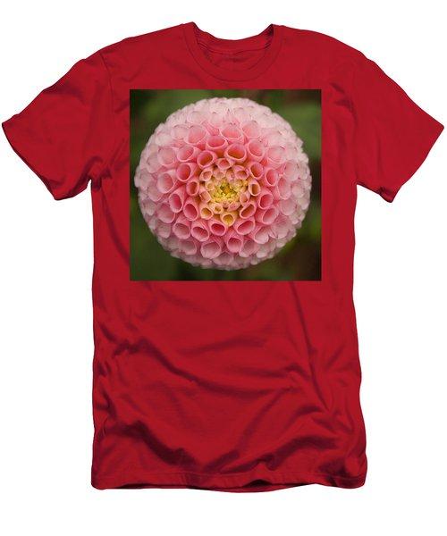 Symmetrical Dahlia Men's T-Shirt (Athletic Fit)