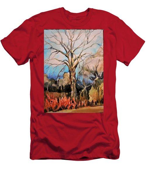 The Barren Tree Men's T-Shirt (Athletic Fit)