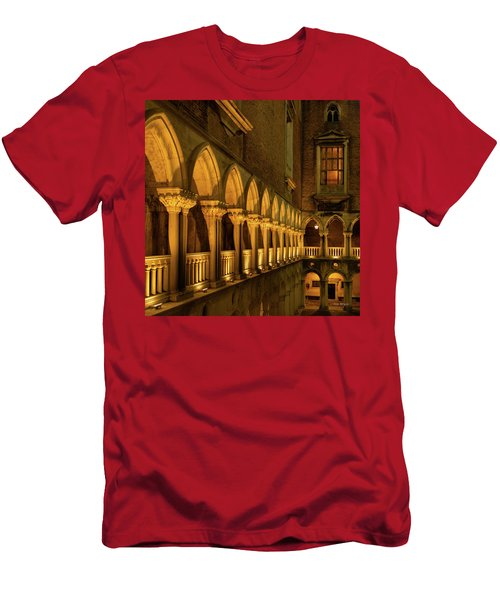 Men's T-Shirt (Athletic Fit) featuring the photograph The Doge's Palace -- Venice by Tim Bryan