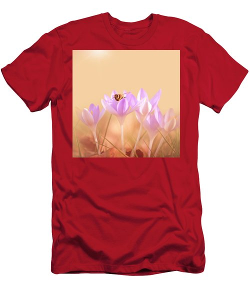 The Earth Blooms Men's T-Shirt (Athletic Fit)
