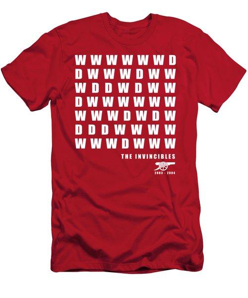 The Invincibles - Arsenal Men's T-Shirt (Athletic Fit)