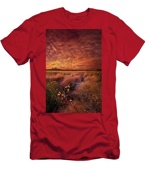Men's T-Shirt (Athletic Fit) featuring the photograph The Light So Softly Spoken by Phil Koch