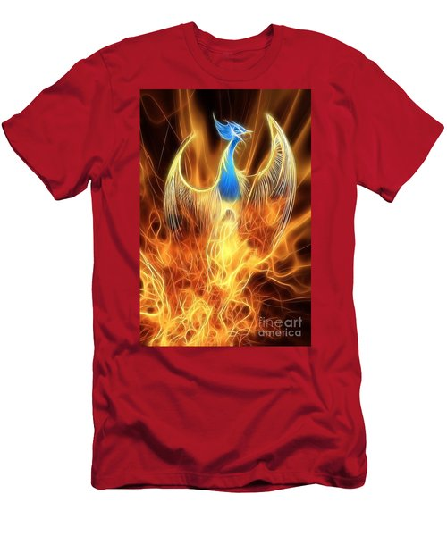 The Phoenix Rises From The Ashes Men's T-Shirt (Athletic Fit)