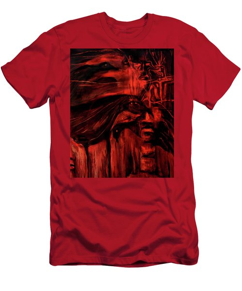 The Shap Shifters Call Men's T-Shirt (Athletic Fit)