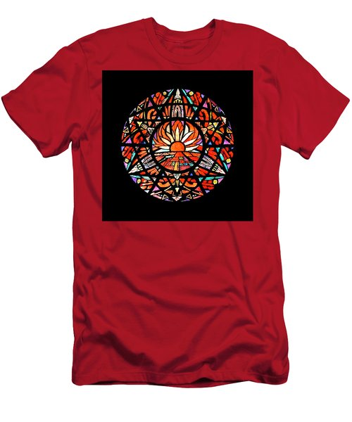 the Sun is Aflame Men's T-Shirt (Athletic Fit)