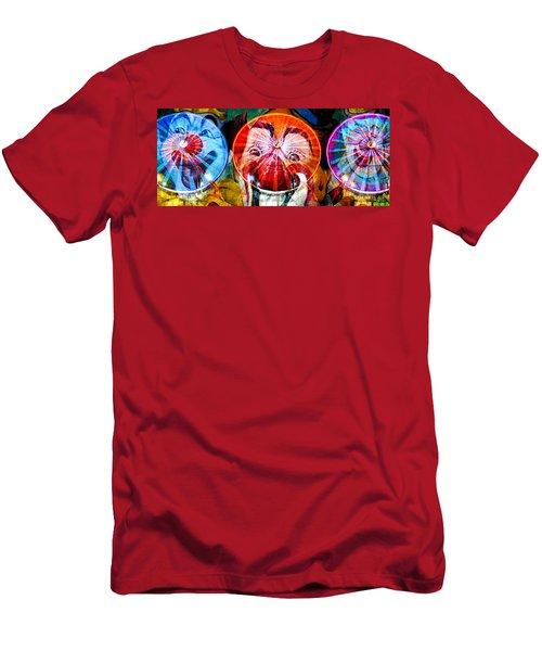 Three Wheels Of Fun Men's T-Shirt (Athletic Fit)