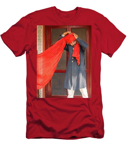 Tie One On Men's T-Shirt (Athletic Fit)