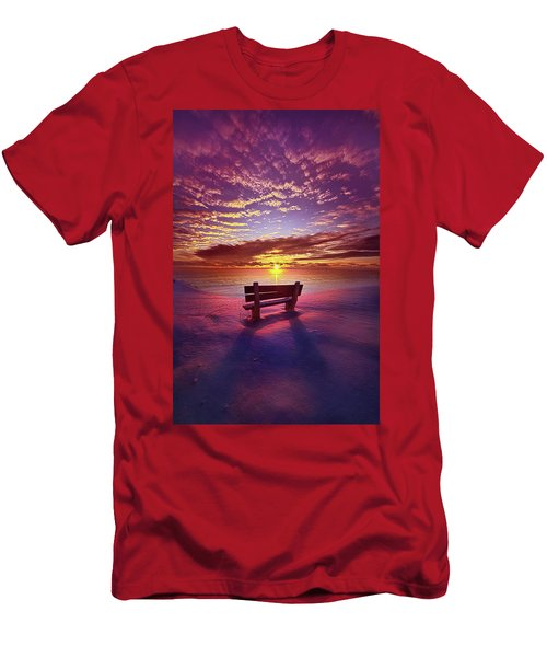 Men's T-Shirt (Athletic Fit) featuring the photograph To Belong To Oneself by Phil Koch