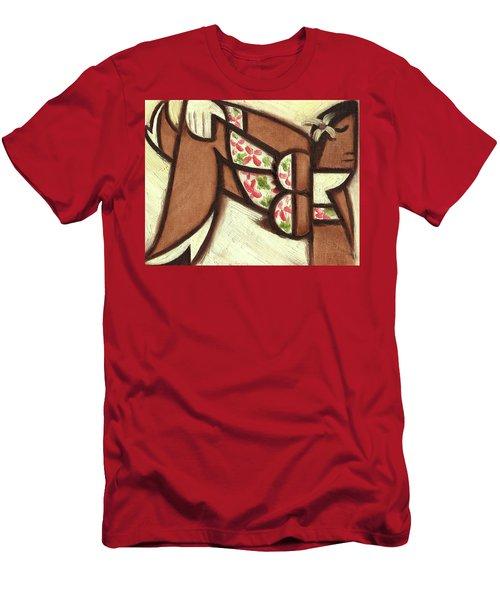 Tommervik Hawaiian Woman Lounging Art Print Men's T-Shirt (Athletic Fit)