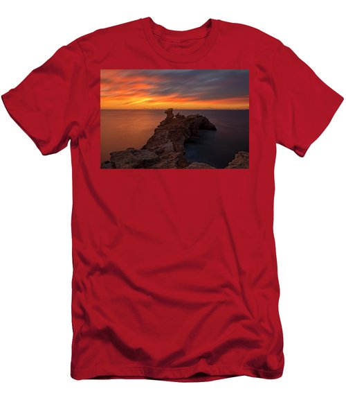 Total Calm At A Sunrise In Ibiza Men's T-Shirt (Athletic Fit)