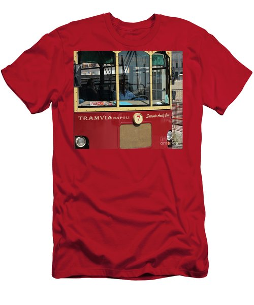 Tram Naples Men's T-Shirt (Athletic Fit)