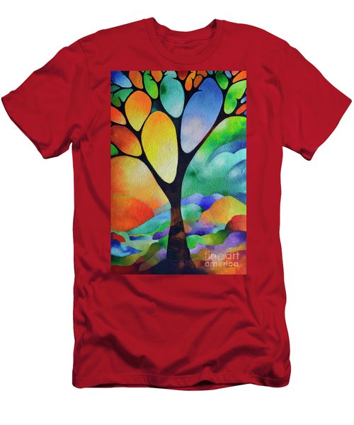 Tree Of Joy Men's T-Shirt (Athletic Fit)