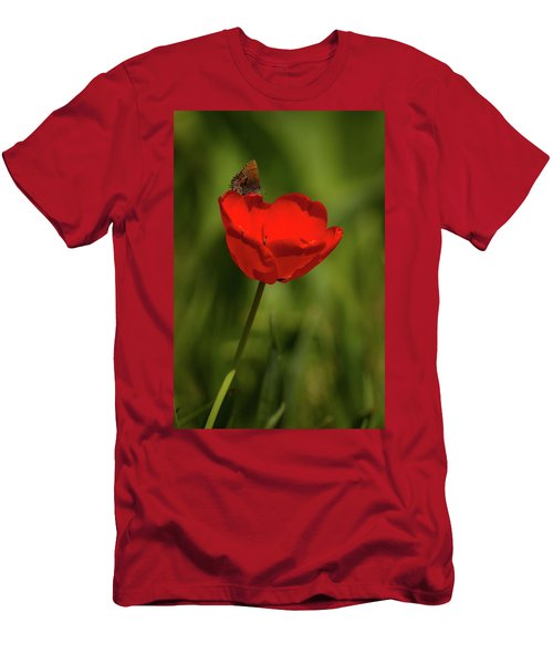Tulip And Skipper Men's T-Shirt (Athletic Fit)