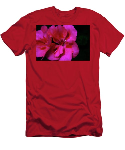 Men's T-Shirt (Athletic Fit) featuring the photograph Vibrant Art by Milena Ilieva
