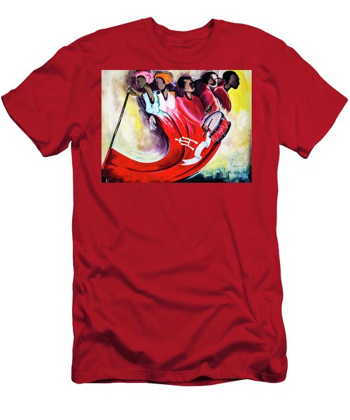 Wall Painting In Fogo, Cape Verde Men's T-Shirt (Athletic Fit)