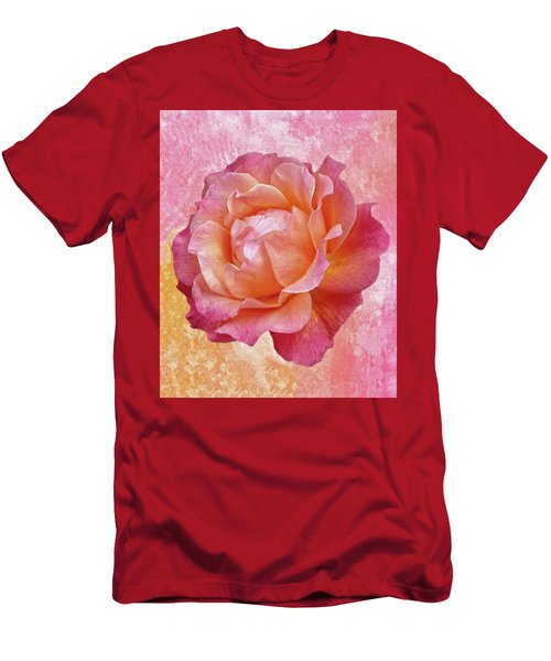 Warm And Crunchy Rose Men's T-Shirt (Athletic Fit)