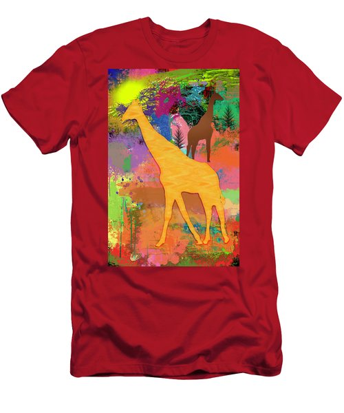Wild Africa Men's T-Shirt (Athletic Fit)