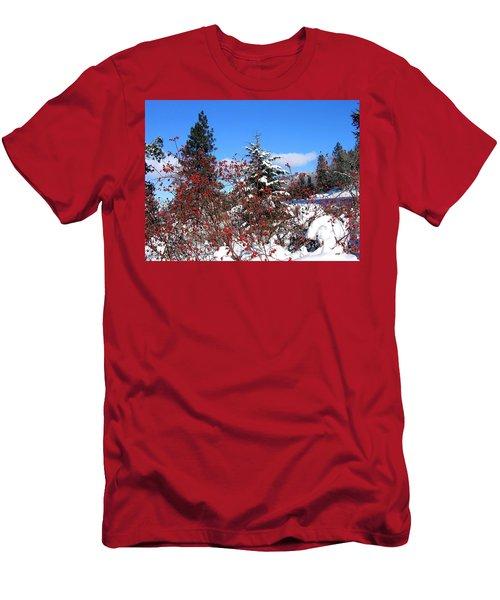 Winter Sanctuary Men's T-Shirt (Athletic Fit)