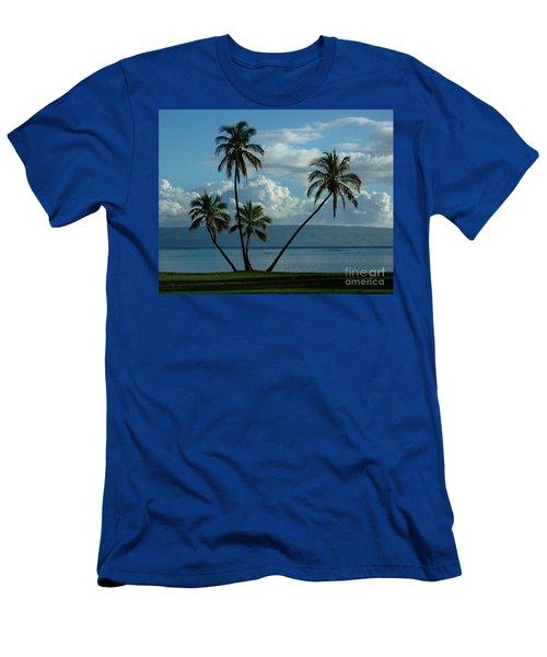 A Little Bit Of Paradise Men's T-Shirt (Athletic Fit)