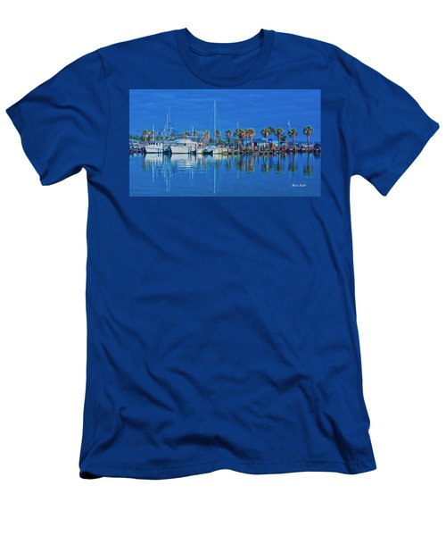 Blue Morning  Men's T-Shirt (Athletic Fit)