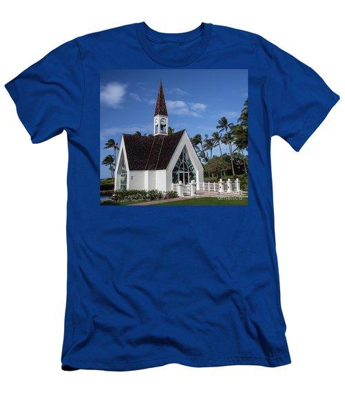 Grand Wailea Hawaiian Resort Wedding Chapel On Maui Men's T-Shirt (Athletic Fit)