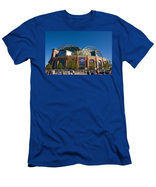 0386 Miller Park Milwaukee Men's T-Shirt (Athletic Fit)