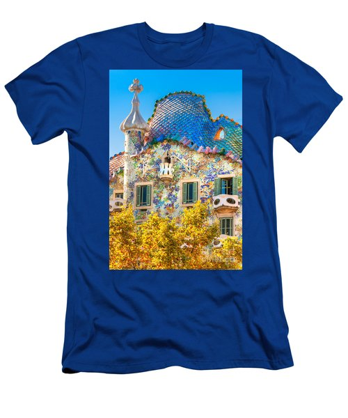 Casa Batllo - Barcelona Men's T-Shirt (Slim Fit) by Luciano Mortula